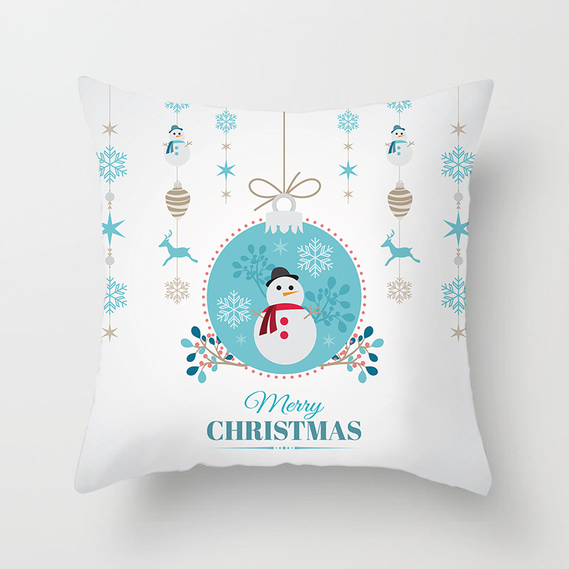 Merry Christmas Decorations For Home Decoration Noel 2018 Christmas Ornaments Christmas 2018 Decor Pillow Case Gifts Xmas Decor  (4)