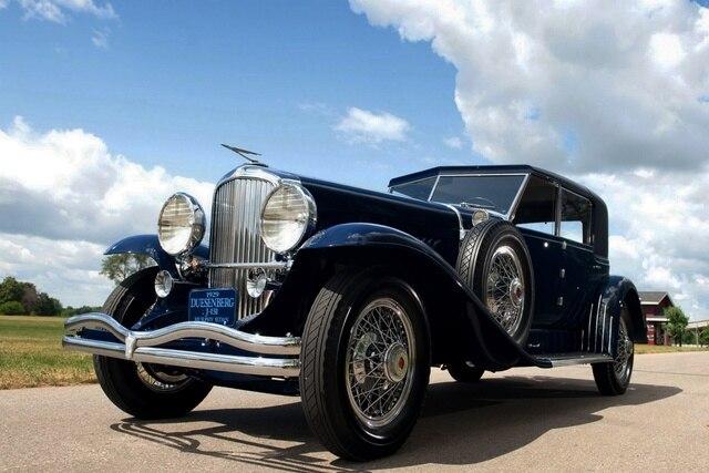 Retro Art Woonkamer : Duesenberg model j sport sedan murphy luxe retro auto