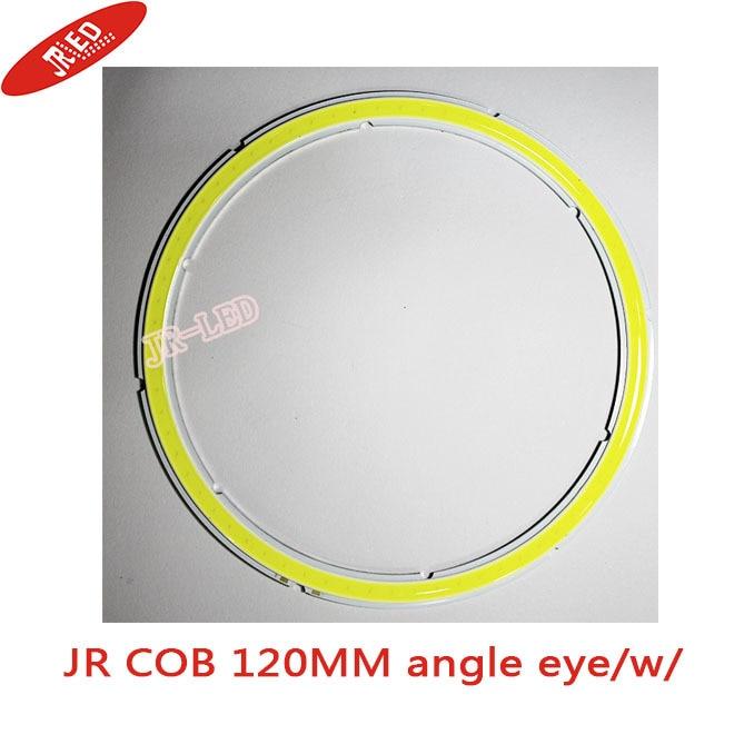 2db 100% -os vízálló COB szögszem 120MM Led 25W-os fénygyűrűk - LED Világítás - Fénykép 2