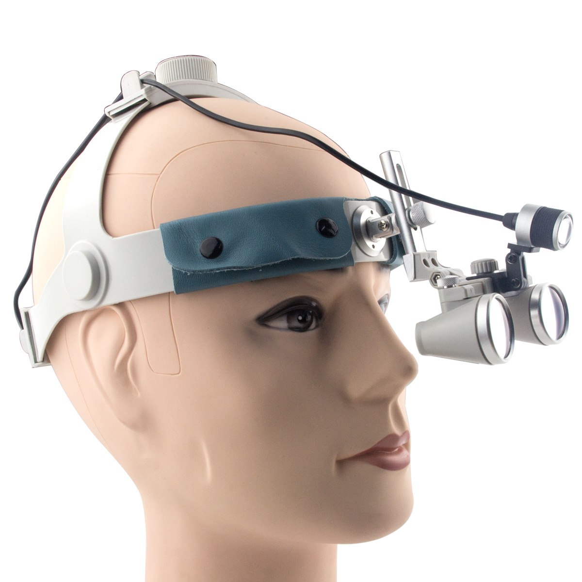 Spark 3.5x Magnification Professional Loupes with Comfortable Headband and Mounted LED Head Light Adjustable Pupil Distance  spark 2 5x magnification dentist surgical medical binocular dental loupes with comfortable headband and mounted led head light