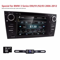 Kapazitiven Touchscreen Auto DVD-Player Für BMW E90 E91 E92 E93 3 Serie Radio Video iPone 5 6 GPS Navigation BT system