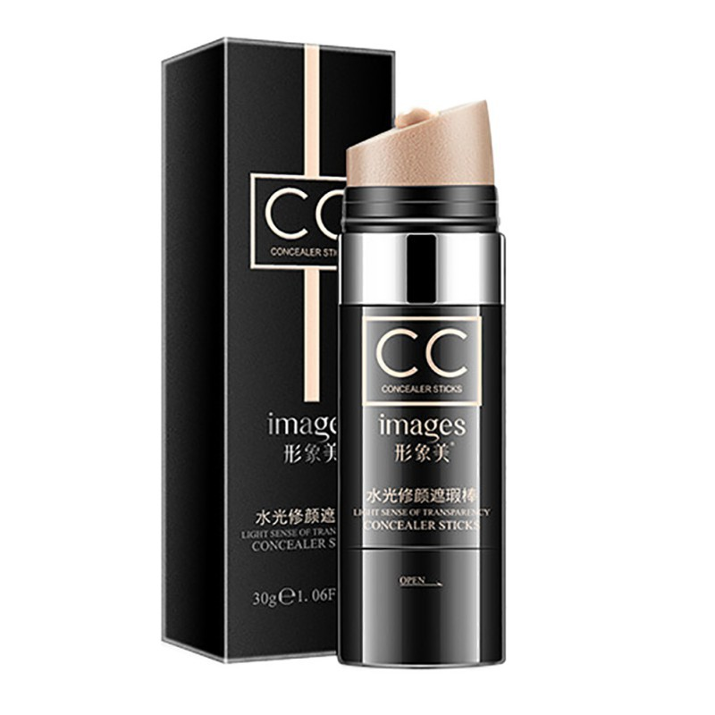Air Cushion CC Moisturizing Foundation Makeup Natural Cover Up Waterproof Whitening Face Concealer Stick Beauty Products