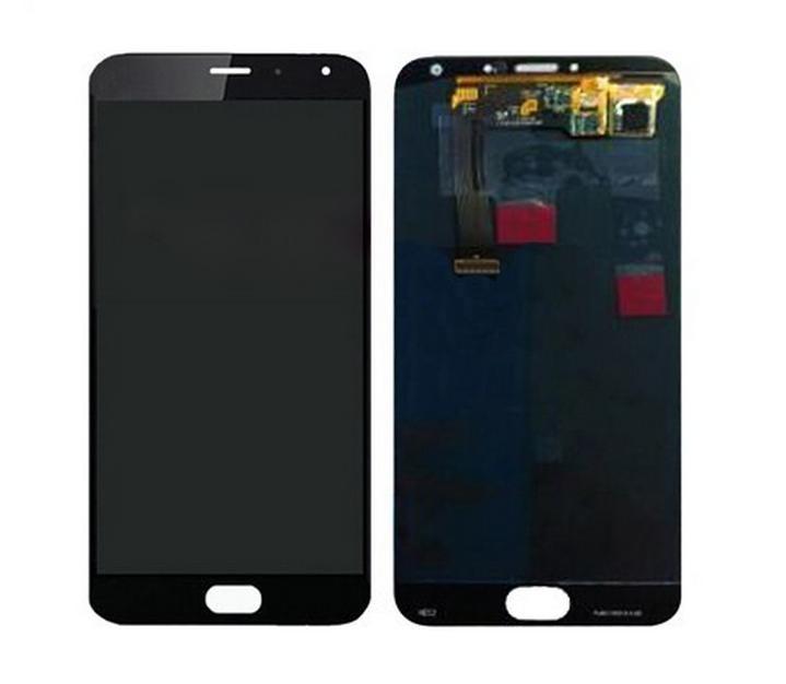imágenes para Meizu mx5 pantalla lcd con pantalla táctil digitalizador asamblea negro/blanco probaron antes de enviar disasembly herramientas como regalo