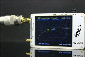 Image 3 - 2.8 inch LCD NanoVNA VNA HF VHF UHF UV Vector Network Analyzer Antenna Analyzer + PC Software + Battery