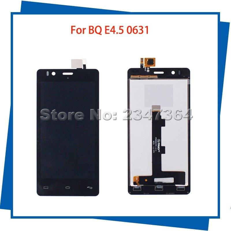 Para BQ Aquaris E4.5 0631 HD IPS5K0631FPC-A3-E 4.5 ''Pantalla LCD Táctil Asamble
