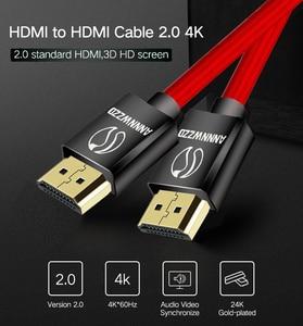 Image 5 - Высокоскоростной кабель HDMI 1 м 2 м 3 м 5 м 10 м 6 футов видео 4K 2160p HD 1080p 3D   Xbox PlayStation PS3 PS4 TV PC