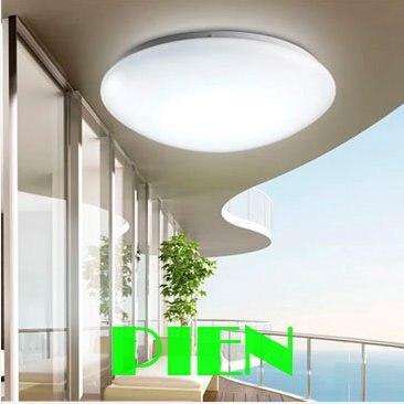 24w Led Ceiling Lights 50w Fluorescent Bulb Equivalent White Modern Langit Lampu Untuk Ruang Tamu