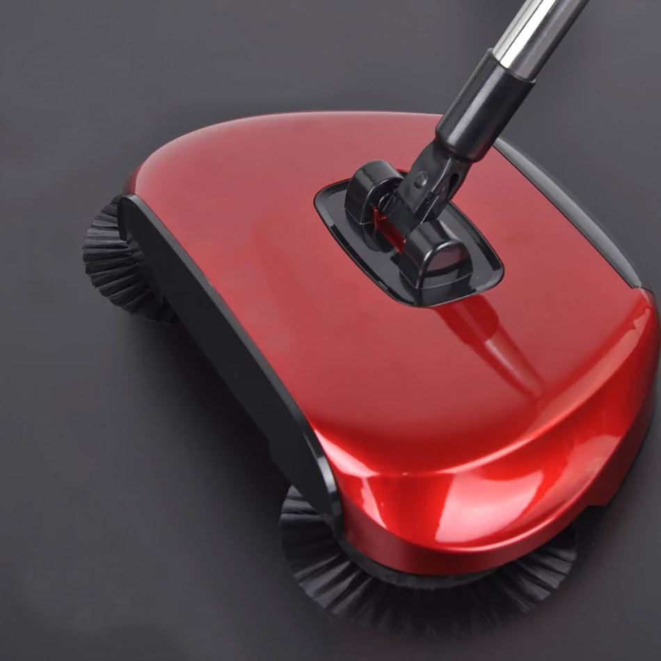 Stainless Sweepers Sweeping Machine Push Type Steel Hand Push Hand Push Magic Broom Sweepers Dustpan Household Cleaning Tools 2