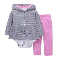 2017 Spring Autumn Kids Baby Boy Clothing Suit Long Sleeve Printing Bebes Kids Cotton Set Hoodie