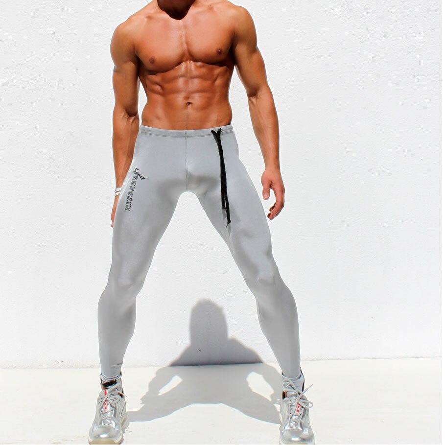 Herren Kompression Gym Sport Leggings Hose Fitness Sport Camo Base Layer Leggins