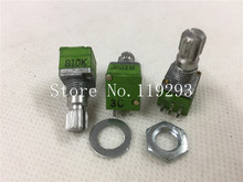 [BELLA]Genuine imported from ALPHA double- double channel volume linear potentiometer RK097 type -B10K -15 rachis–10PCS/LO