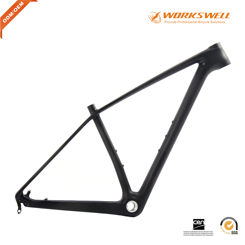 new carbon BSA MTB frame 29er Mountain bicycle frame thru AXle or Quick Release T800 UD Carbon XC 29