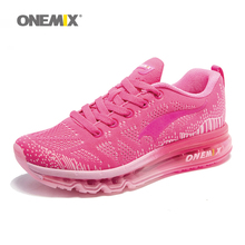 ONEMIX Women Running Shoes Weave Breathable Sport Shoes Air Cushion for Women Jogging Sneakers 1118