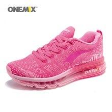 Mujeres de Los Zapatos Corrientes ONEMIX Armadura Transpirable Zapatos de Deporte de Colchón de Aire para Las Mujeres Jogging Zapatillas de Deporte 1118