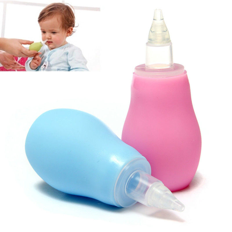New Born Silicone Baby Safety Nose Cleaner Vacuum Suction Children Nasal Aspirator New Baby Care Diagnostic-tool Vacuum Sucker
