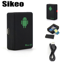 Sikeo Mini A8 LBS GSM Car Tracker GSM/GPRS Tracker Tracking Device SOS Button For Cars Elder Kids Pets Locator Car Navigator