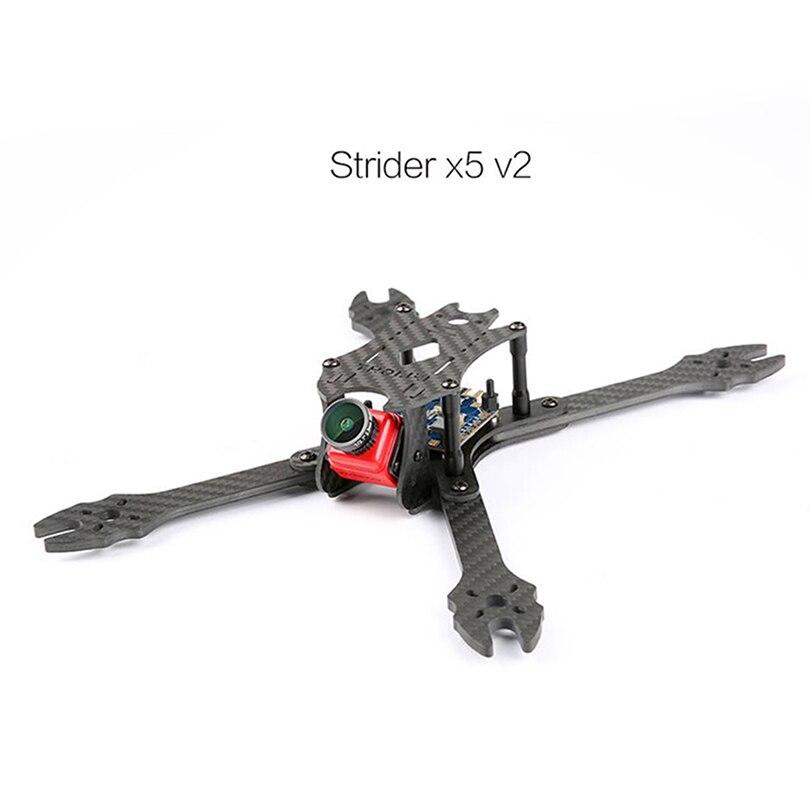 IFLIGHT StriderX5 V2 cadre en Fiber de carbone 230 MM empattement FPV Kit de cadre pour bricolage RC Racer quadrirotor FPV Drone