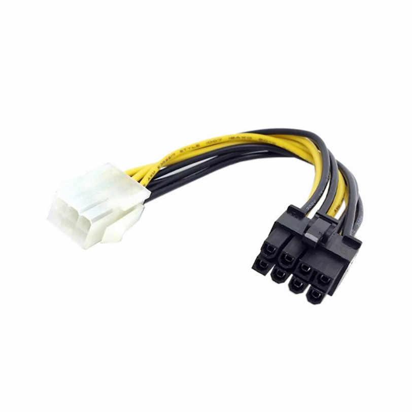6 ピンに 8 ピンの PCI Express 電源変換ケーブル gpu ビデオカード PCIE PCI-E プロのドロップ無料 0630