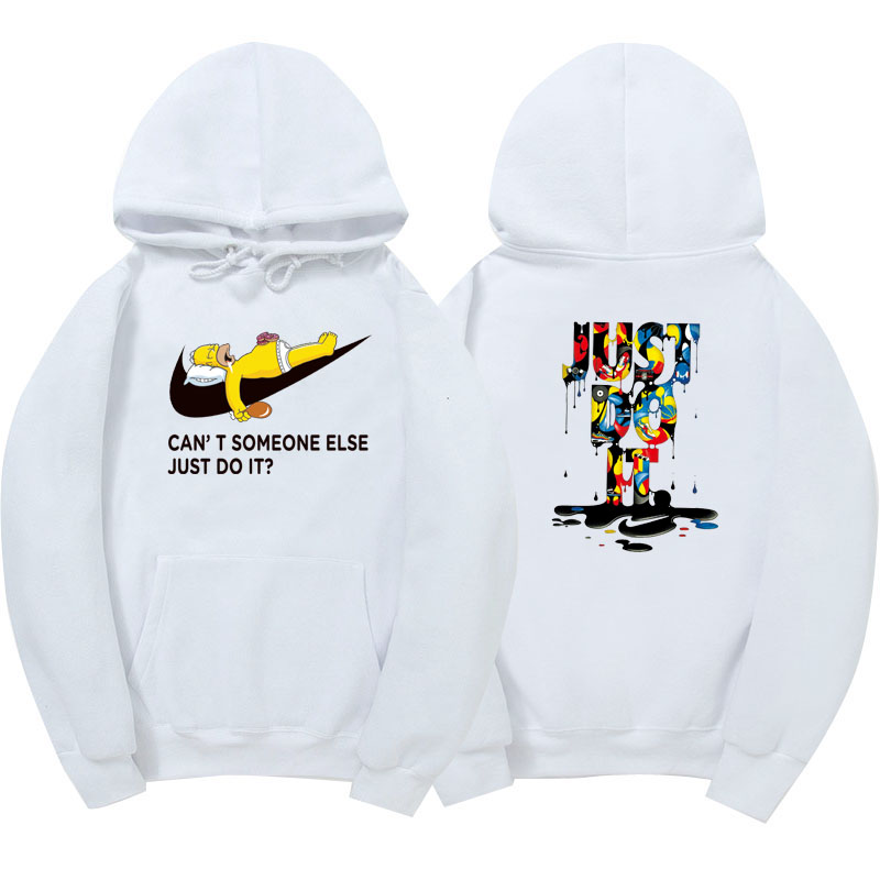 New just do it hoodies poleron hombre fashion skateboard Streetwear sweatshirt polerones mujer men women hoodie