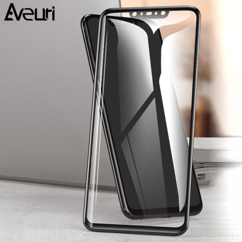 Aveuri 3D Protective Glass For Huawei Nova 3 3i 2 2i Full Cover Tempered Glass For Huawei Nova 4 P Smart Plus Screen Protector-in Phone Screen Protectors from Cellphones & Telecommunications