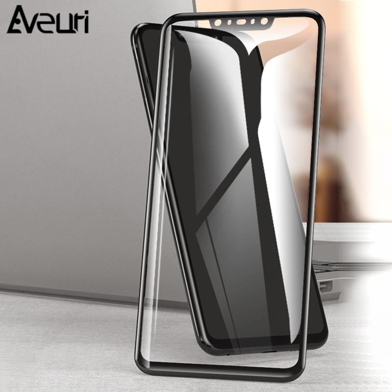 Aveuri 3D Protective Glass For Huawei Nova 3 3i 2 2i Full Cover Tempered Glass For Huawei Nova 4 P Smart Plus Screen Protector