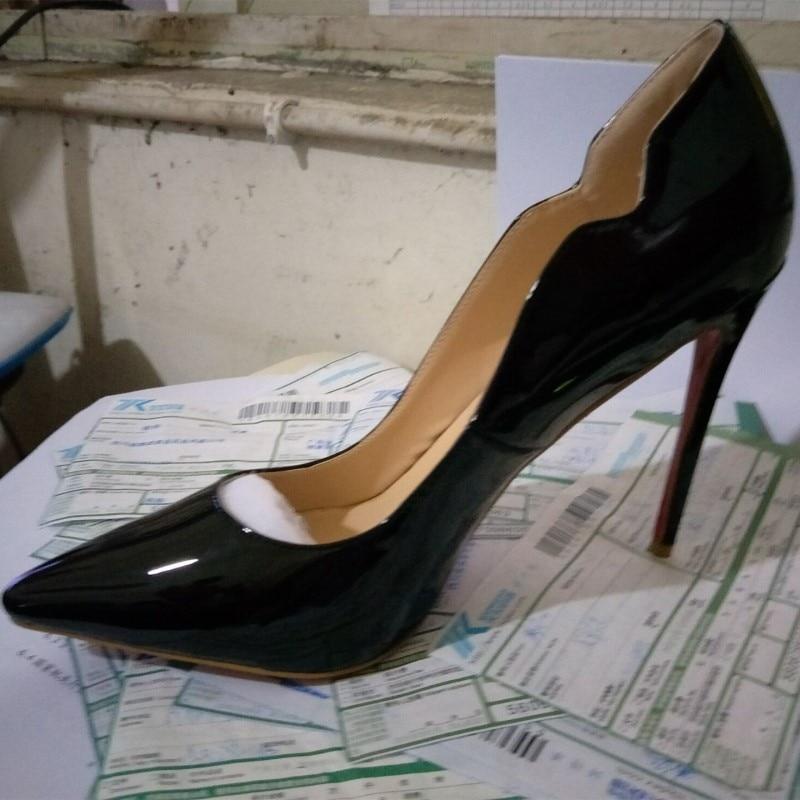 Del Tamaño Tacones Dedo La azul Altos 34 Bombas Señoras Zapatos Telas Shoes Shofoo Envío 2016 Negro Pie De Puntiagudo Libre Mujer Pu Cielo Nuevo 45 Hnx6A