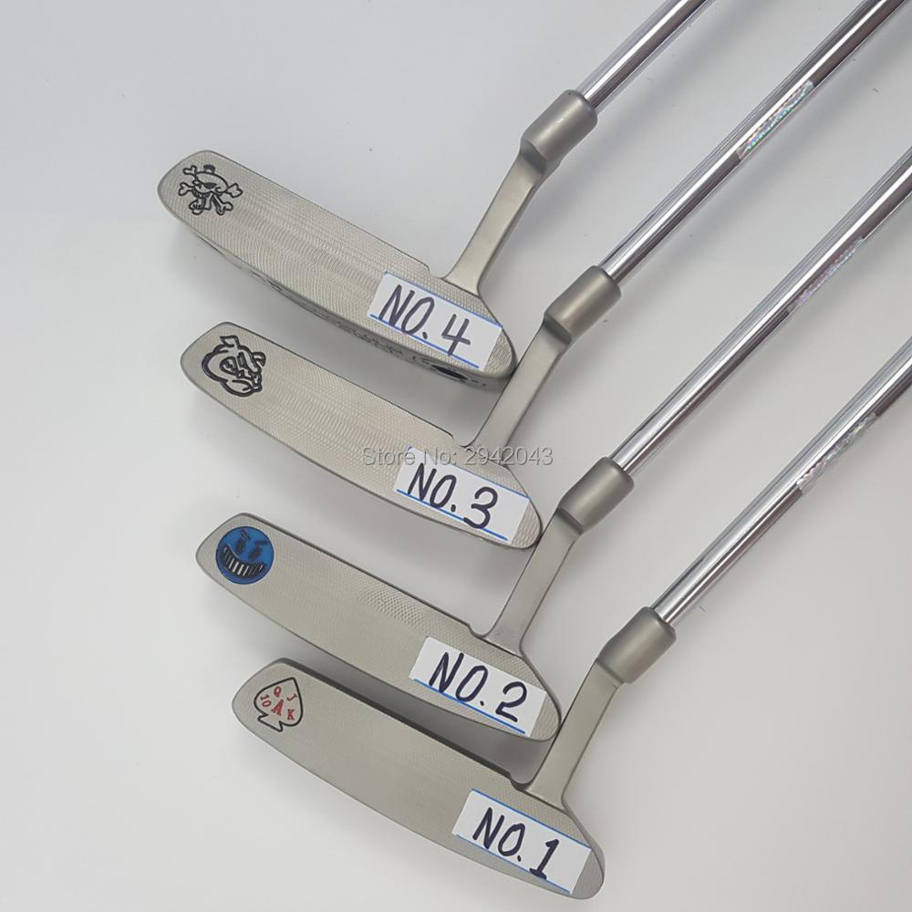 Touredge  CNC high quality putter A variety of styles 33 34 35 inch putter golf putter free shipping 2016 new golf club putter men s gold silver 33 34 35inch can pick up the ball free shipping