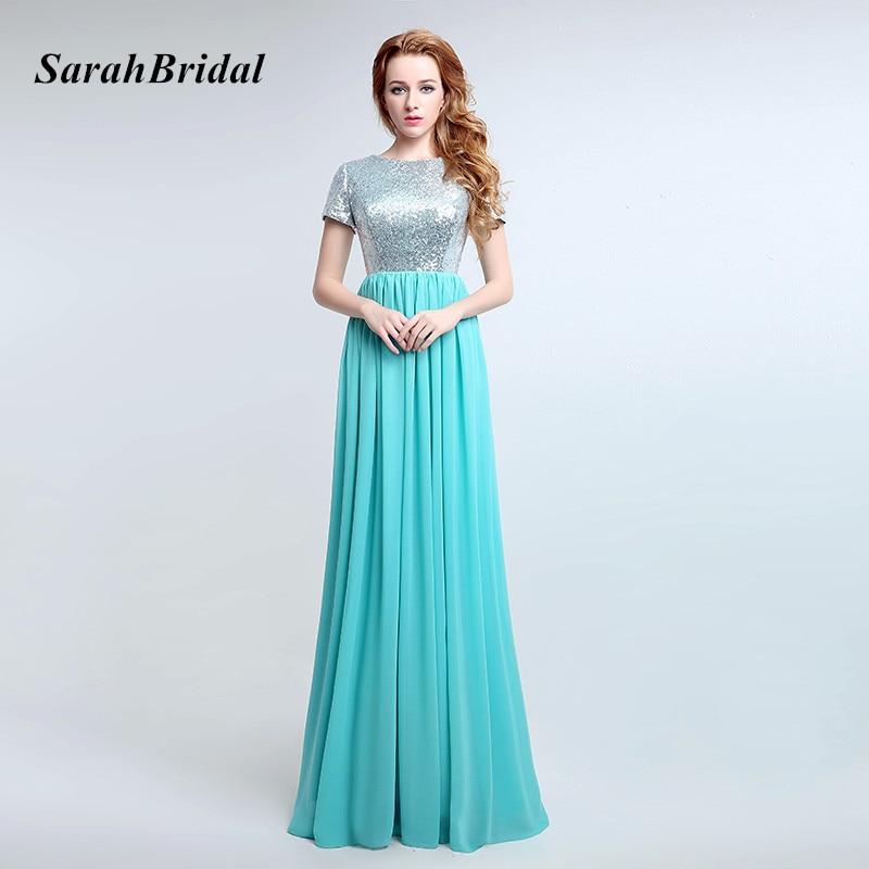 Aliexpress.com : Buy 2017 Simple Turquoise Long Bridesmaid