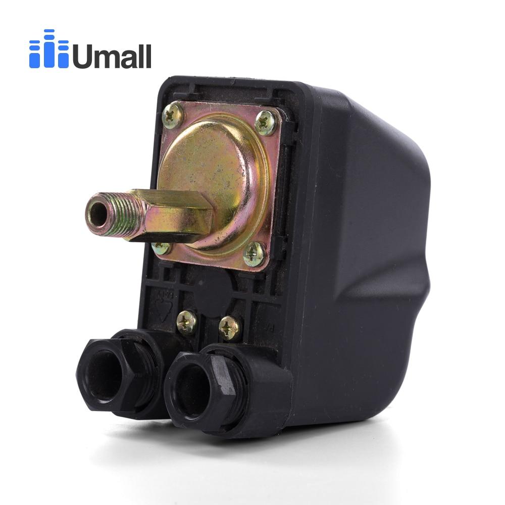 KRS-5 однофазный воздушный компрессор струйный насос управление Лер автоматический Электрический водяной насос бак переключатель давления контроль 30~ 50psi