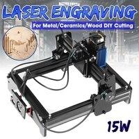 15000mW High Precision Laser Engraving Machine 10W/12W/15W Metal Wood Marking Engraving Home DIY Logo Printer Cutter Wood Router
