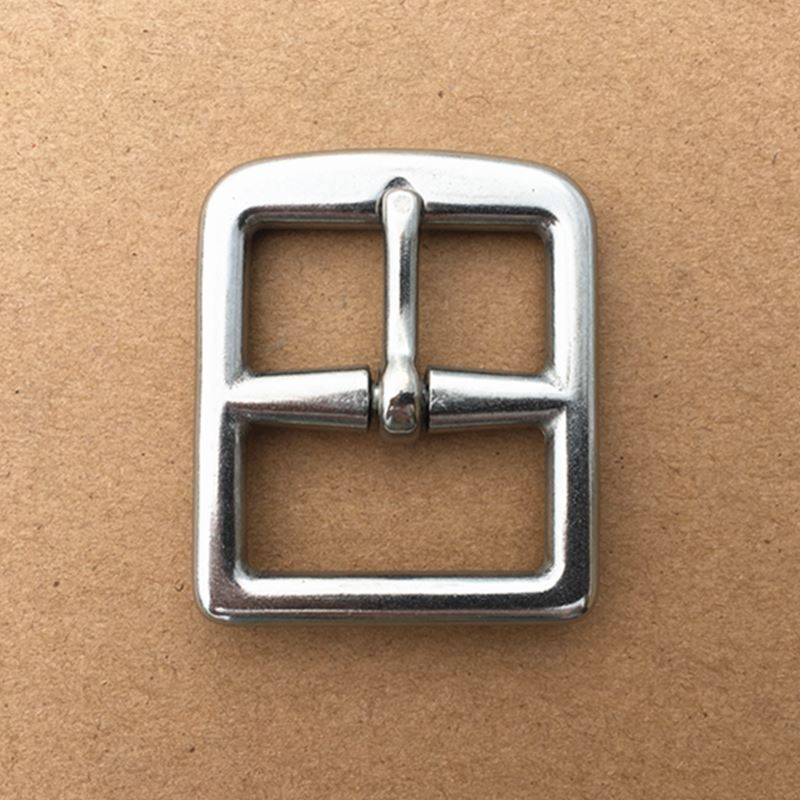 40 Pieces/Lot Stainless Steel Pin Buckle  32mm Belt Buckle Metal Buckle  For Garment  Bag  Leather