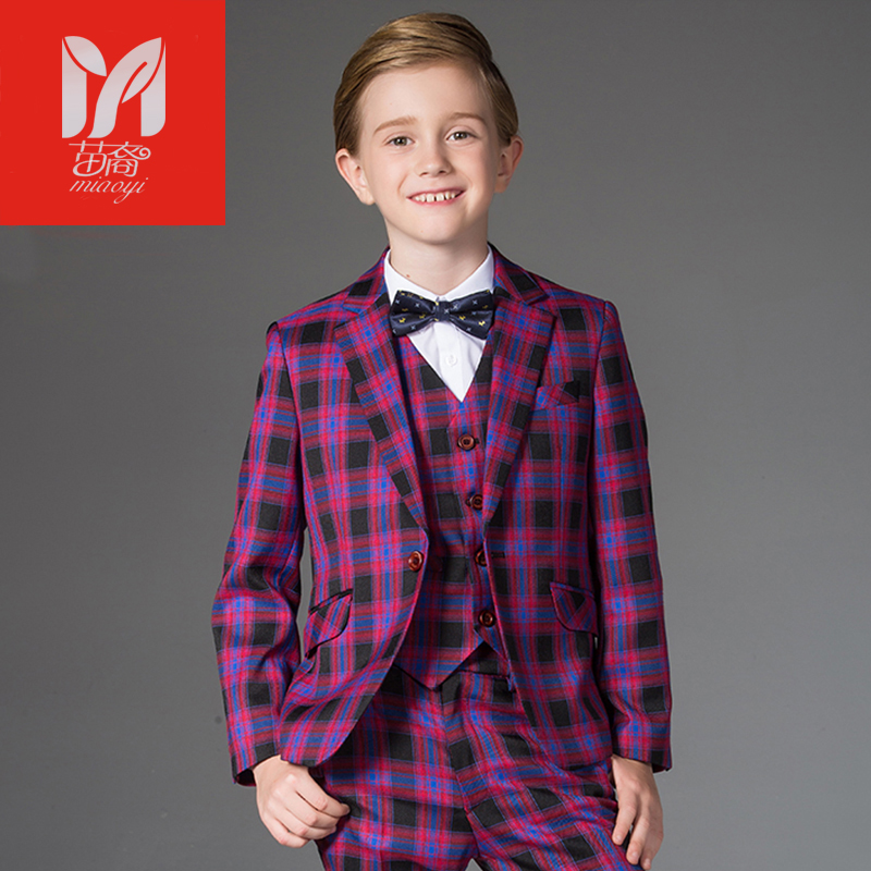 children's leisure clothing sets kids baby boy suits Blazers Dress vest gentleman clothes for weddings formal Costumes
