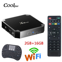 X96 mini TV BOX Android 7.1 OS WiFi Smart TV Box 2GB 16GB Amlogic S905W Quad Core Set top box 1GB 8GB X96mini Media Player