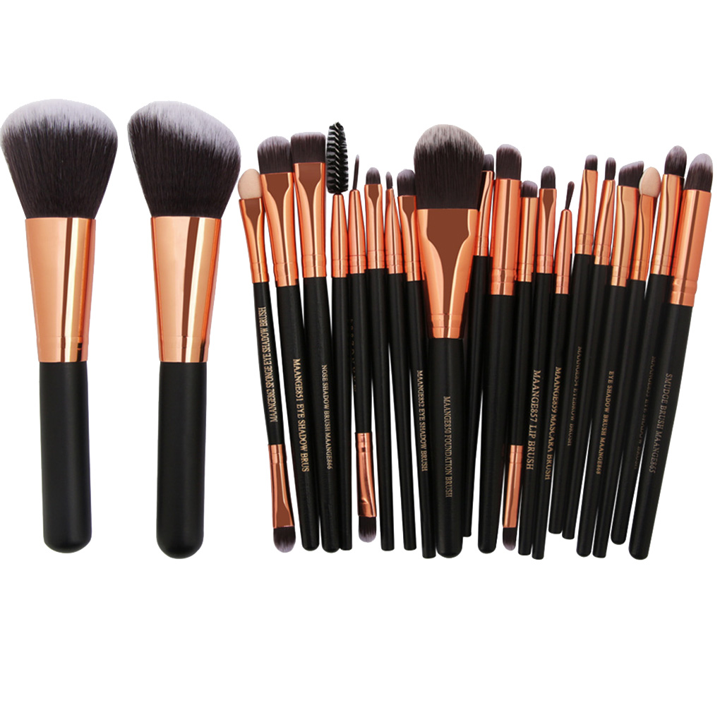 22Pcs Makeup Brushes Print Logo Makeup Brushes Professional Cosmetic Make Up Brush Set The Best Quality! Professional Makeup