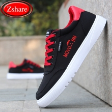 2019 Spring New Arrival Canvas Men Shoes Fashion Breathable Men Casual Shoes Lace-up Comfortable Sneakers Wild Flat Male Shoes spring summer casual shoes for men new arrival ventilation fashion sneakers tourism comfortable breathable men s casual shoes
