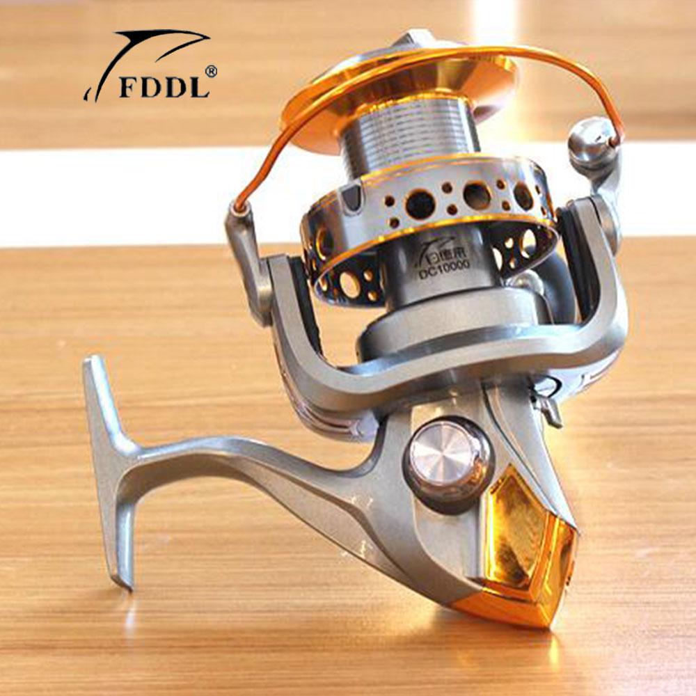 இ¡ Nuevo! Dc9000 10000 5.5: 1 13bb Seamless spinning Pesca Reel ...