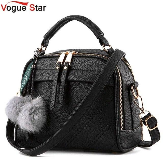 Vogue Star 2017 New Multi-Function Women Leather Handbag Casual Women Messenger Bag Luxury Women Shoulder Bag Female Tote  LS351