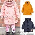 Padrão Panda Outwear Jaqueta Estilo 2016 Bobo Escolheu New Outono Inverno Trench Coat Crianças Crianças Outono Do Bebê Meninas Meninos Crianças