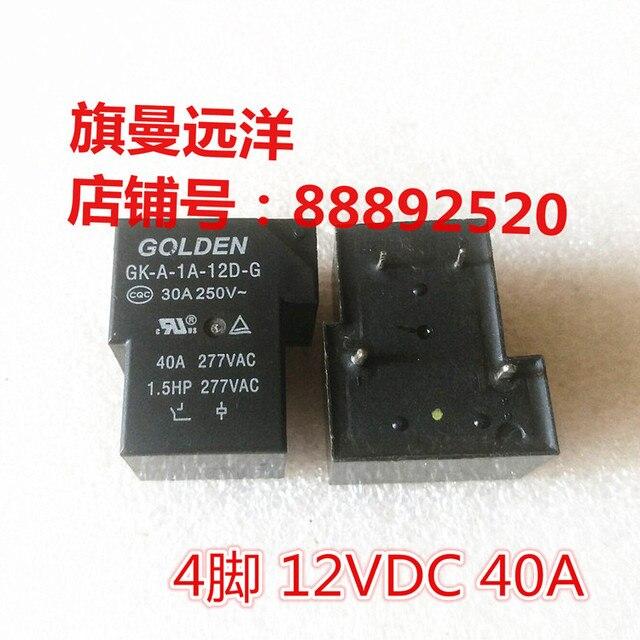 GK-A-1A-12D-G 12VDC 12V 30A 40A 4 broches DC12V