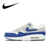 Original Authentic Nike AIR MAX 1 Men's Running Shoes Sport Comfortable Outdoor Sneakers Athletic Designer Footwear 908375 104