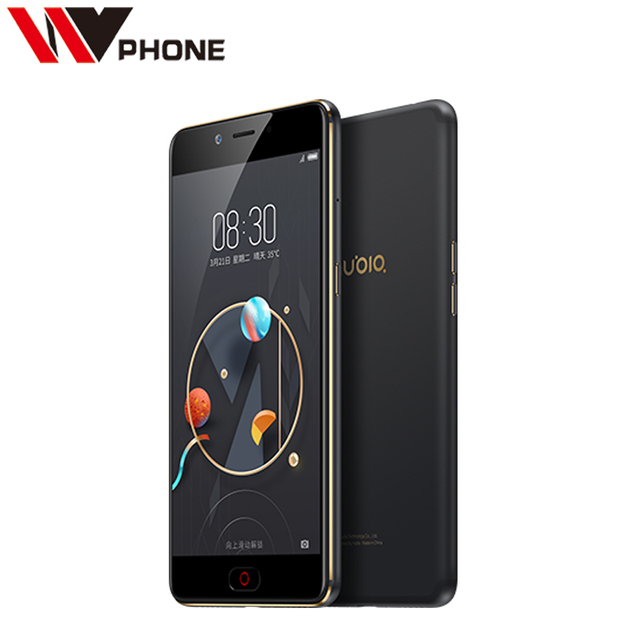 Original Nubia N2 4G LTE Mobile Phone MT6750 Octa Core 5.5 inch Front 16.MP Rear 13.0MP 5000mAh Fingerprint ID