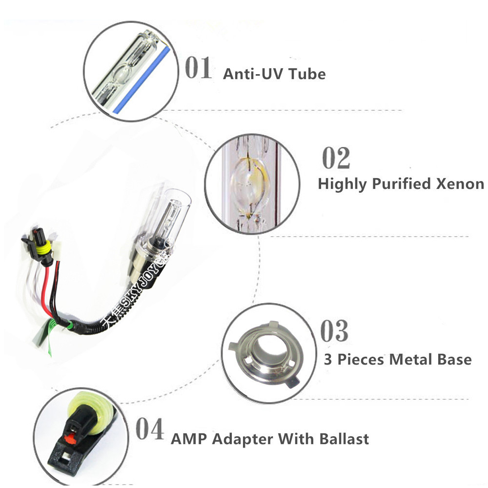 Mopeds Xenon Hid Conversion Wiring Diagrams Trusted 50cc Moped Diagram Headlights Skyjoyce Motor H4 H6 Ba20d Bulb For Scooter Motorcycle Electric Schematic