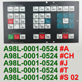 A98L-0001-0524 # T A98L00010524 # T Control Maschine Betrieb Panel Tastatur Membran für FANUC CNC Reparatur, Freies verschiffen