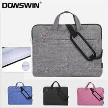 Laptop Bag Case 13 15 Inch Zipper Sleeve Bag For Computer Notebook Laptop Bag Thick Down Shoulder Bag For Macbook Air 13 Case