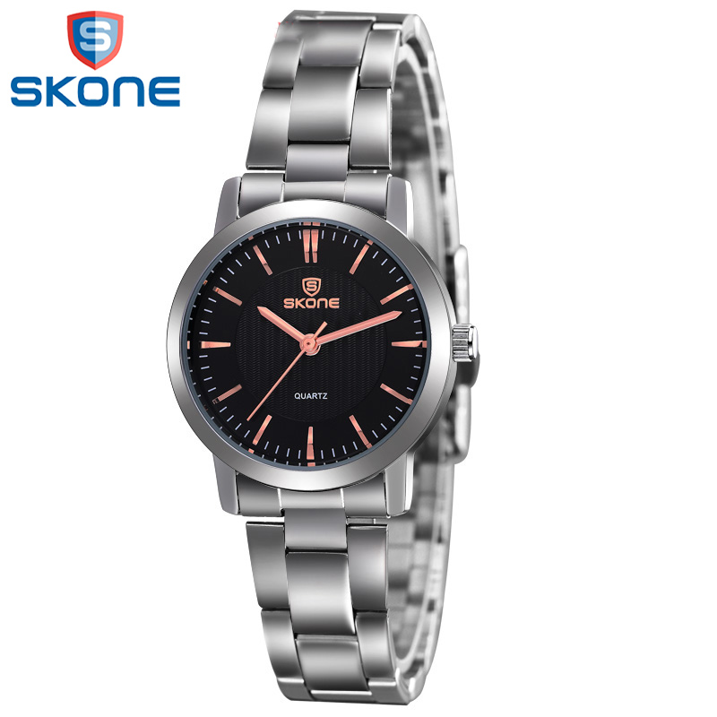 SKONE 2017 Luxury Brand Ladies Geneva Ceramic Quartz Watches Fashion Casual Clock Wristwatches for Women Unique