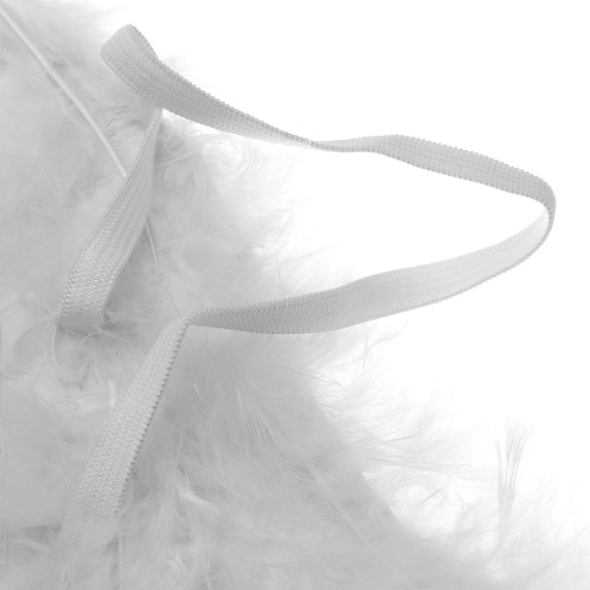 Black White Feather Dark Angel Fairy Wings Halo Fancy Dress Party ...