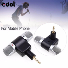 1pc Mini 3 5mm Microphone Stereo Mic For Recording Mobile Phone Studio For Laptop Microphone