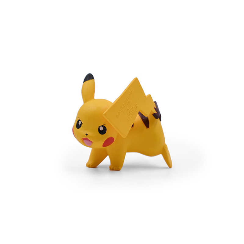 12 pcs Anime Figura de Ação do Fei Pikachu Squirtle Bulbasaur 3 Cubone Mini Animais Dos Desenhos Animados Brinquedos Modelo Gift Collection-5 cm