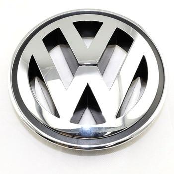 150MM Chrome 1K5853600MQH Front Radiator Grille Emblem Car Accessories For VW Volkswagen Golf Jetta Passat CC Tiguan R32 Rabbit