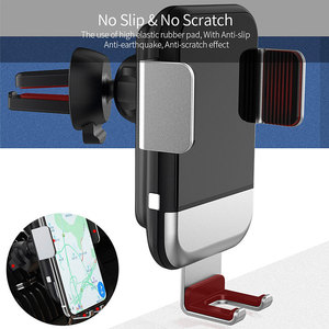 Image 4 - Essager Qi Car Wireless Charger for iPhone Samsung S20 Xiaomi mi 10W Induction Car Mount Fast Wireless Charging Car Phone Holder